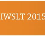 IWSLT2015