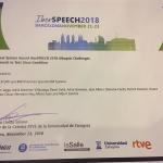 MLLP RTVE-Iberspeech-2018 Award 1