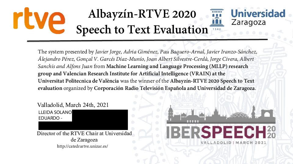 RTVE-Iberspeech2020_award_certificate